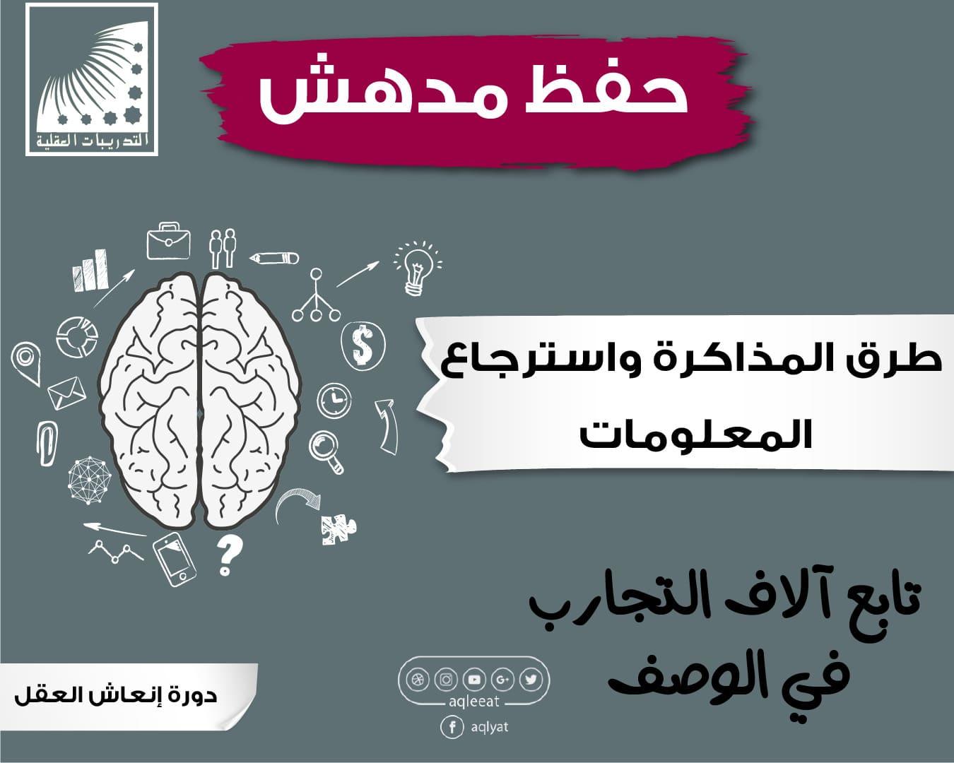 تمارين لتنشيط الدماغ ، الذاكرة القوية والحفظ السريع ، علاج النسيان وضعف الذاكرة